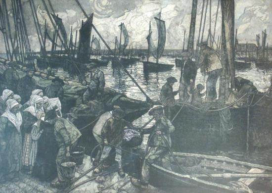 1917-leon-ruffe-le-dechargement-du-poisson-a-camaret.jpg