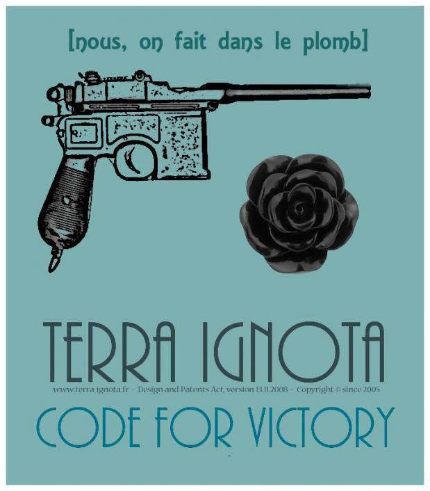 Affiche terra ignota code for victory i 2