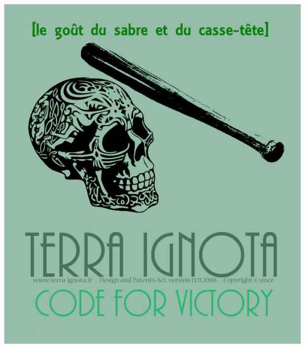 Affiche terra ignota code for victory iv 2