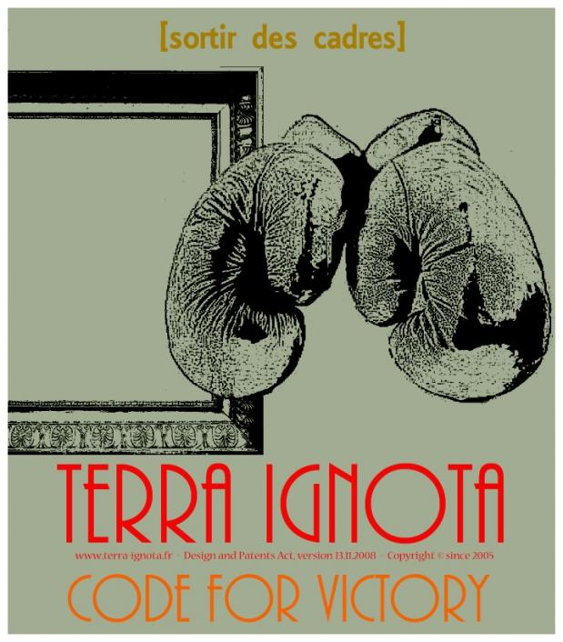 Affiche terra ignota code for victory xiii 1