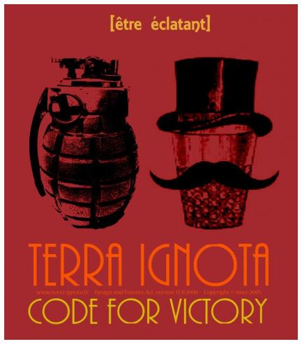 Affiche terra ignota code for victory xiv