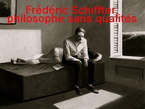 Le philosophe sans qualité