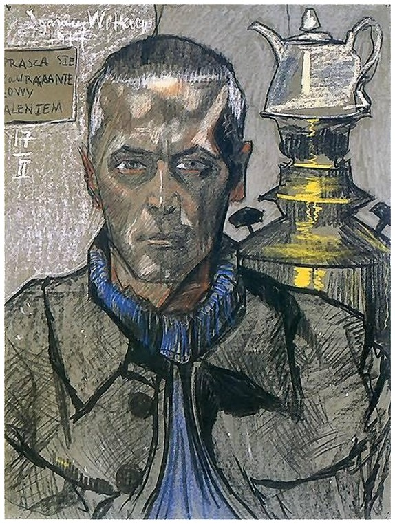 Self-Portrait with samovar