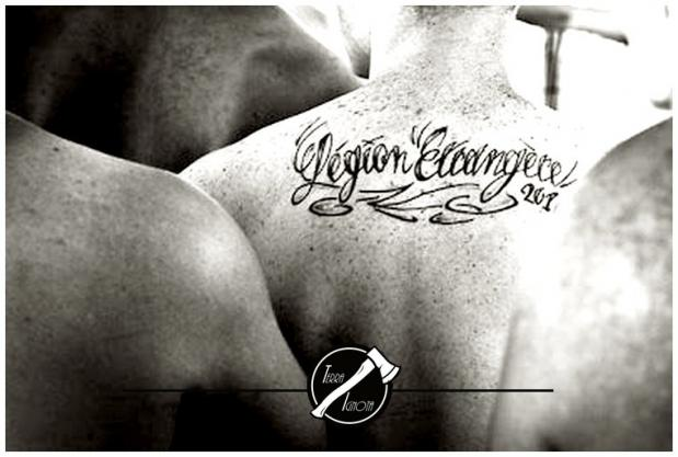 Tattoo legion etrangere logo