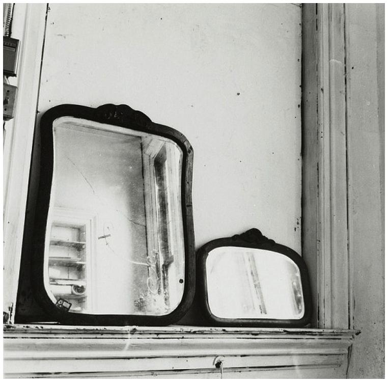 Terra ignota 1976 mirrors in pilgrim mills loft