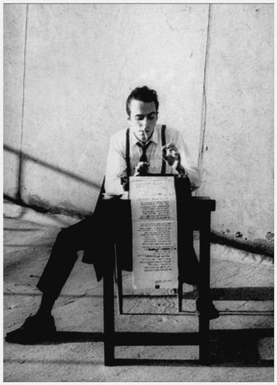 Terra ignota joe strummer of the clash by pennie smith