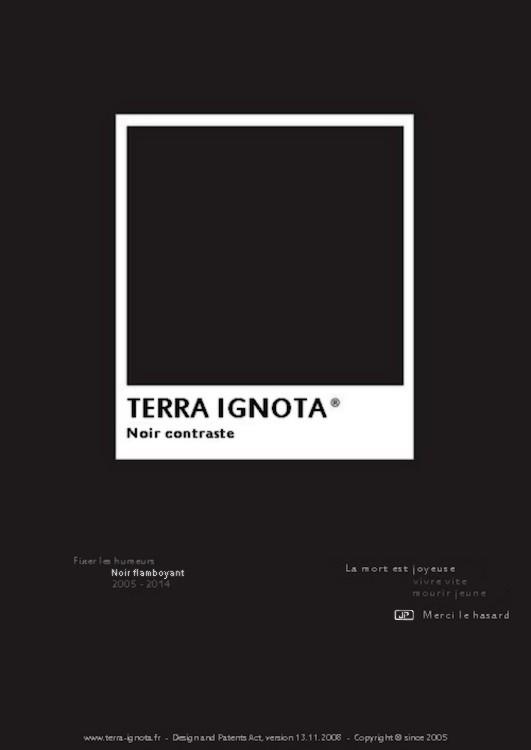 Terra ignota noir contraste