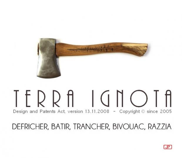 Terra ignota seule solution la hache