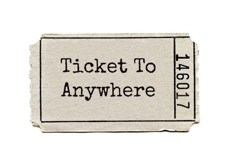 Terra ignota ticket to anywhere