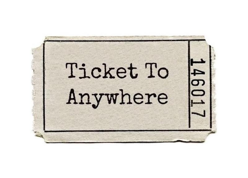 Terra ignota ticket to anywhere