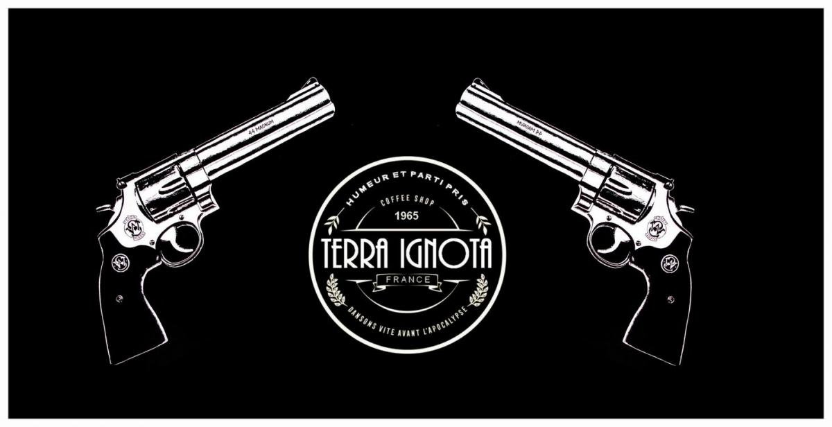 Terra ignota 2 pistolets et 1 cafe